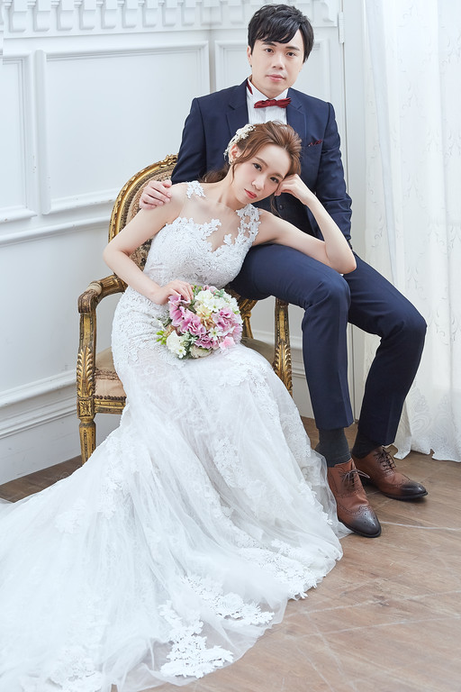 自助婚紗,好拍市集,新娘秘書,鮮花造型,繡球花婚紗