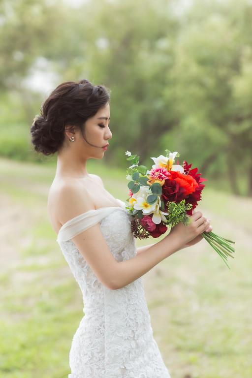 自助婚紗,婚紗包套,新娘造型,新娘秘書,鮮花造型
