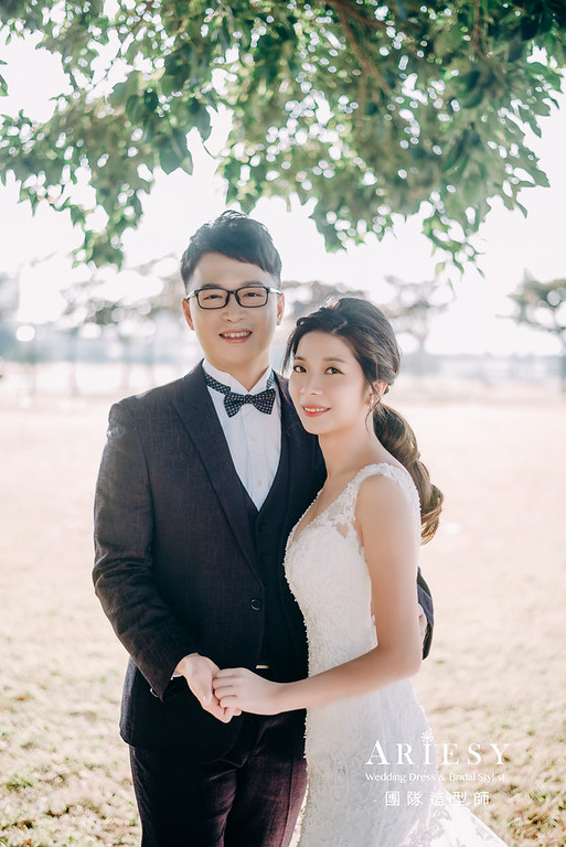 婚紗攝影,婚紗造型,新莊婚紗,白紗造型,婚紗包套,攝影大嘴,新祕Hanya,新娘秘書,愛瑞思品牌訂製手工婚紗