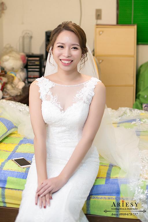白紗造型,新娘秘書,新秘,台北新秘,愛瑞思,ARIESY