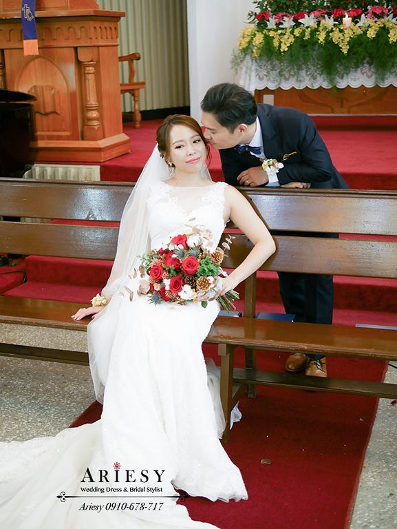 教會婚禮,新娘秘書,新秘,台北新秘,愛瑞思,ARIESY