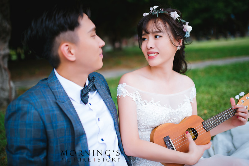 自助婚紗,白紗造型,婚攝莫妮,Ariesybaby團隊,ARIESY愛瑞思品牌訂製手工婚紗