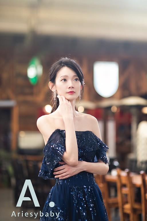 新莊自助婚紗,Ariesybaby造型團隊,ARIESY愛瑞思品牌訂製手工婚紗,聽葉子的聲音攝影團隊,名媛風新娘造型