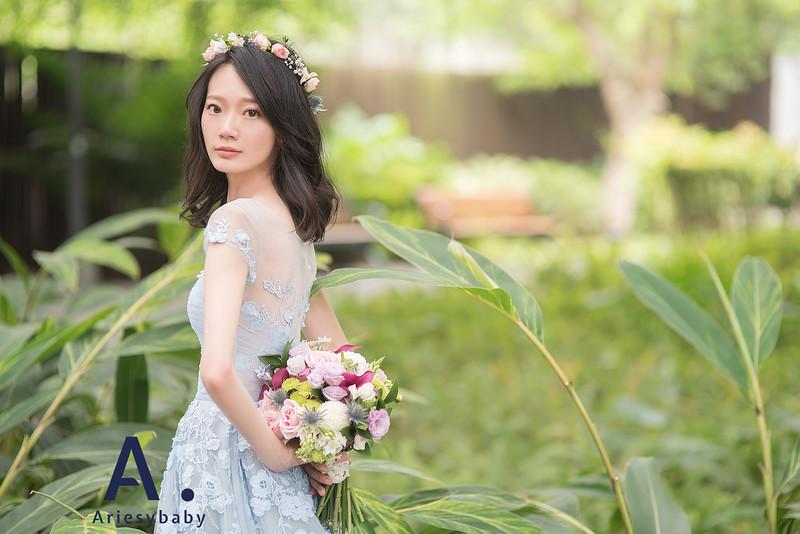 新莊自助婚紗,Ariesybaby造型團隊,ARIESY愛瑞思品牌訂製手工婚紗,聽葉子的聲音攝影團隊,鮮花花藝飾品
