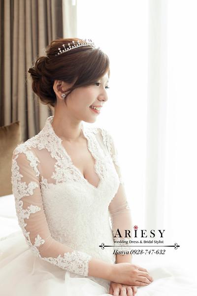 桃園新祕,新娘秘書,白紗髮型,編髮造型,浪漫甜美造型