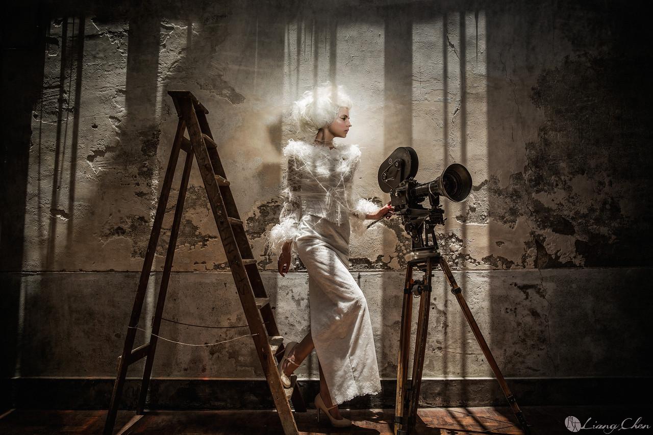 婚紗攝影,獨立婚紗,肖象婚紗,自助婚紗,婚攝良大,復古時尚風,影像創作