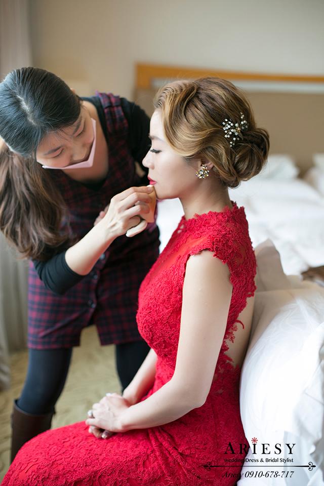 復古新娘造型、新娘秘書、歐美風新秘、新娘髮型、新秘