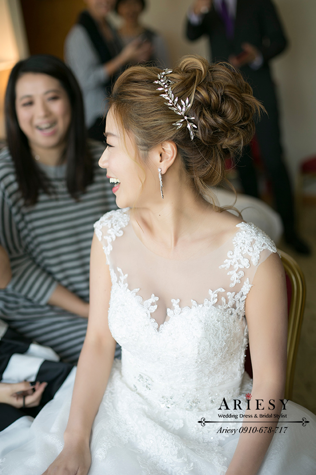 白紗造型,,粗硬髮造型,新娘秘書,歐美風新秘粗硬髮造型,,新娘髮型,新秘