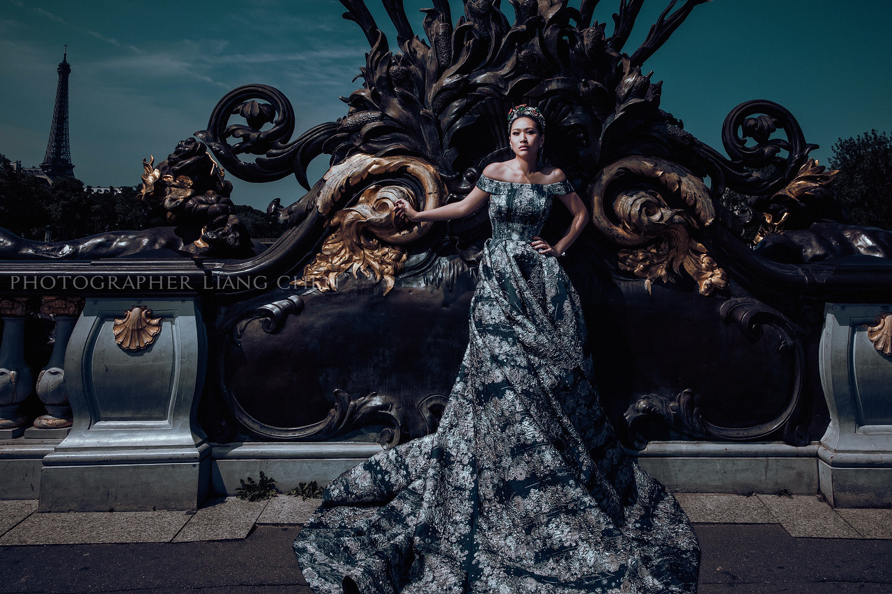 婚紗攝影,獨立婚紗,肖象婚紗,自助婚紗,婚攝良大,復古時尚婚紗,法國Paris巴黎婚紗,攝影