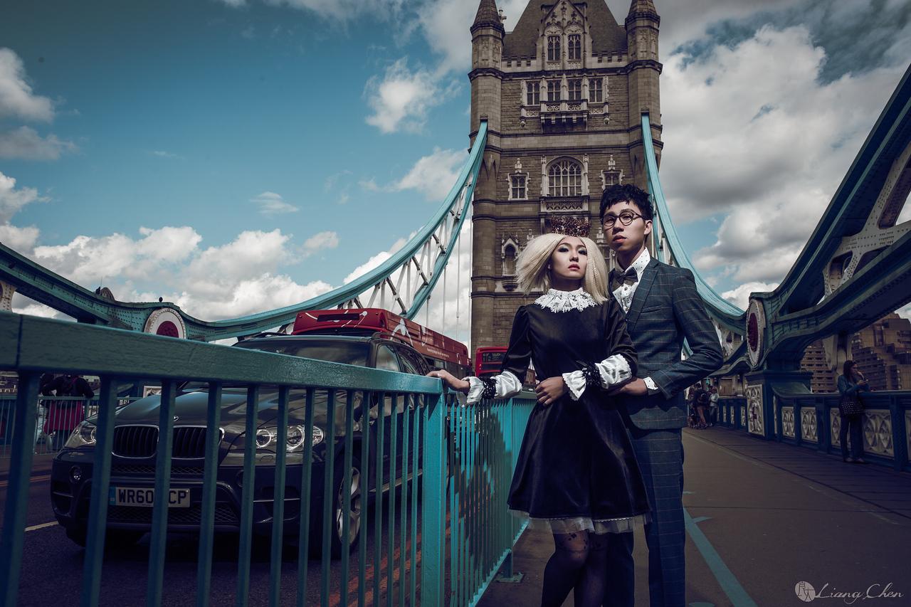 《海外婚紗》 陸霖 & 濬安 / 英國 倫敦