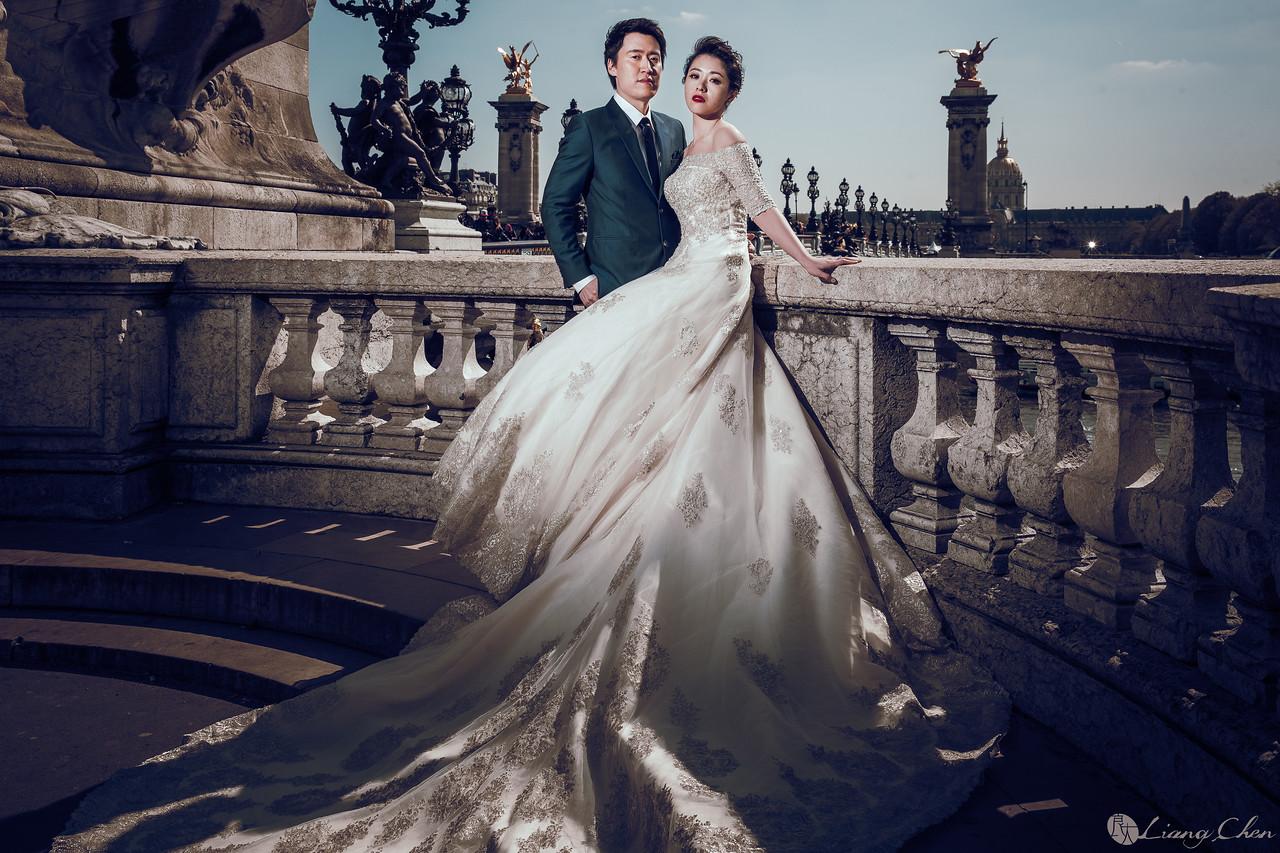 自助婚紗,婚紗攝影,婚紗禮服,婚紗照,法國巴黎婚紗