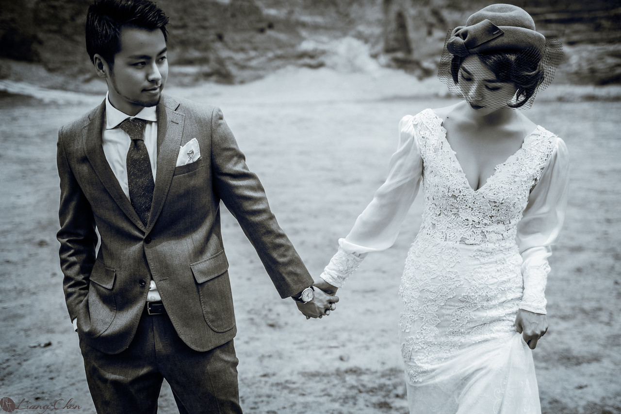 婚紗攝影,獨立婚紗,肖象婚紗,自助婚紗,婚攝良大,復古時尚風格
