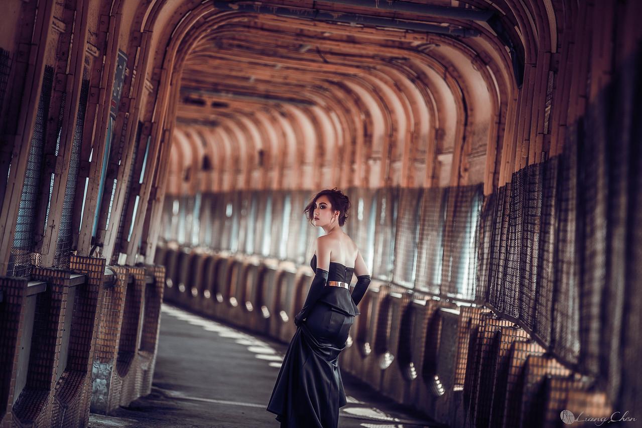 自助婚紗,婚紗攝影,婚紗禮服,基隆,復古時尚風格