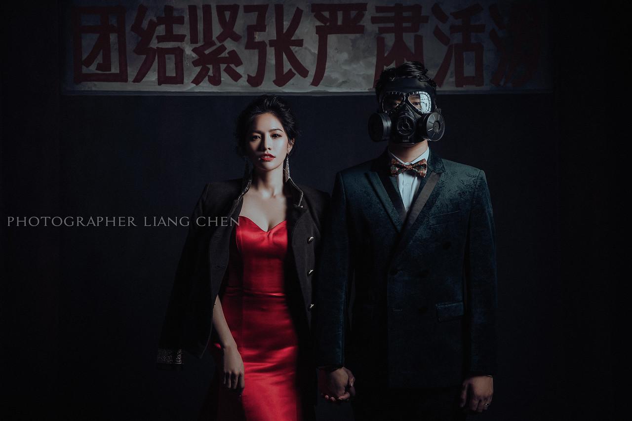 《婚紗》承𧙗 & 竺均 / 棚內婚紗 - 婚攝 良大 Liang Chen - 自助婚紗 | 婚禮攝影