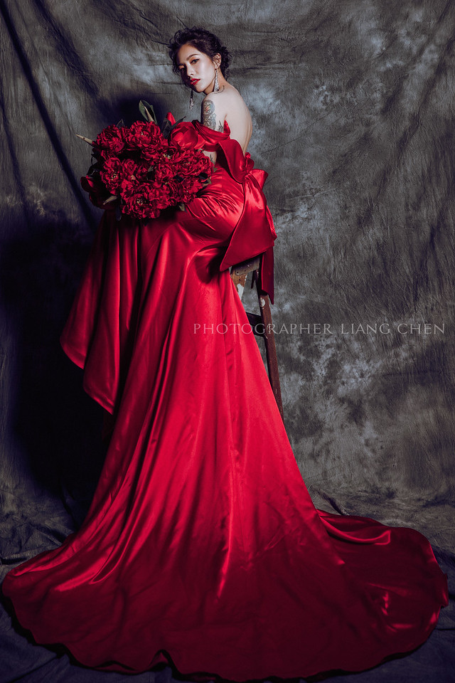 婚紗攝影,獨立婚紗,肖象婚紗,自助婚紗,婚攝良大,復古時尚婚紗,室內婚紗