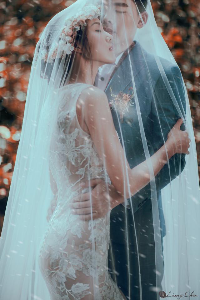 自助婚紗,婚紗攝影,婚紗禮服,婚紗照,陽明山婚紗