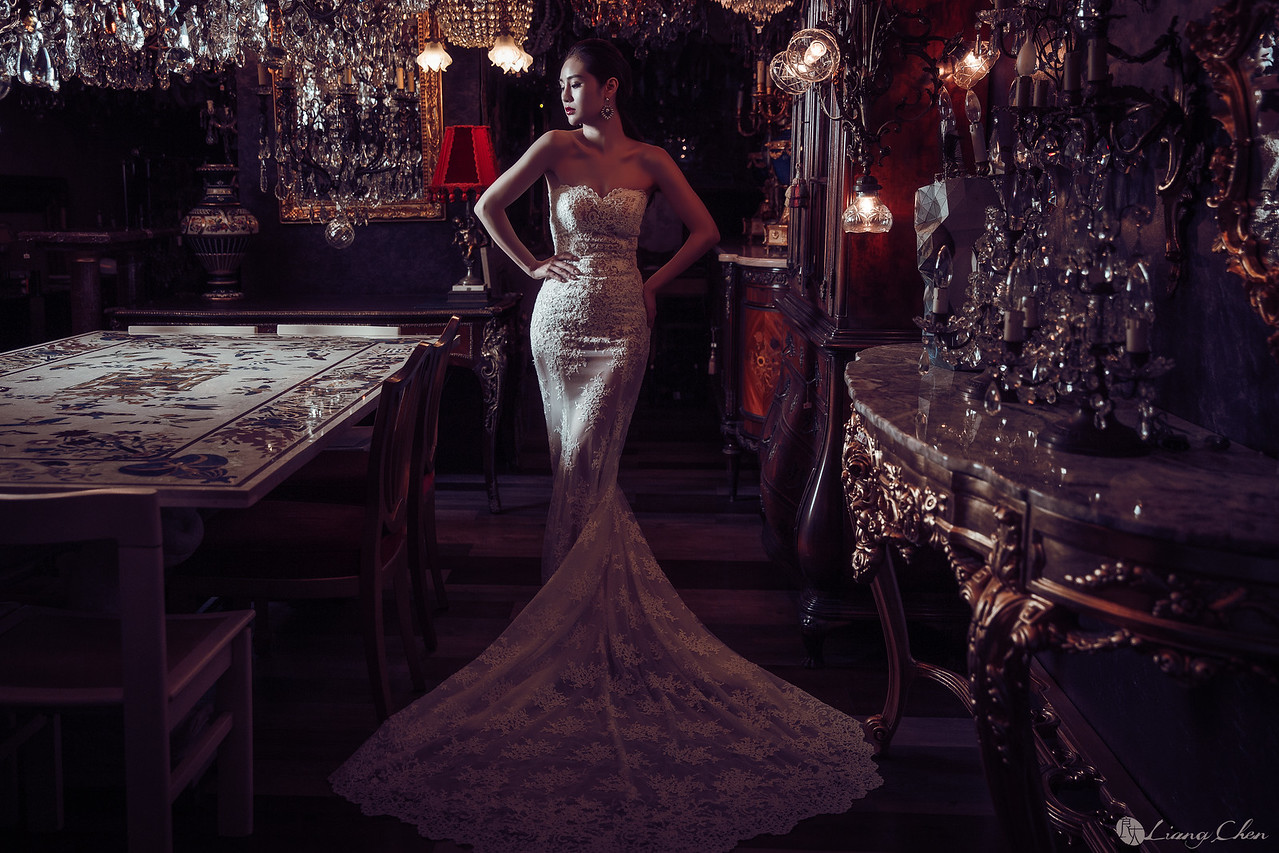 自助婚紗,婚紗攝影,陽明山,婚紗禮服