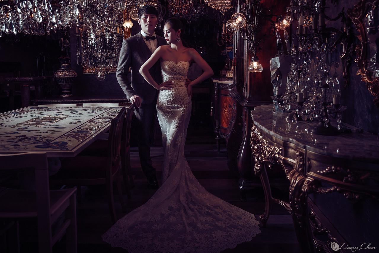 自助婚紗,婚紗攝影,陽明山,白紗禮服
