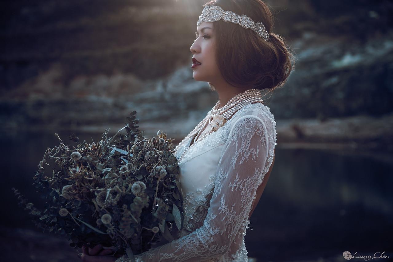 《婚紗》芳芳 & 冠廷 / 陽明山 花卉實驗中心