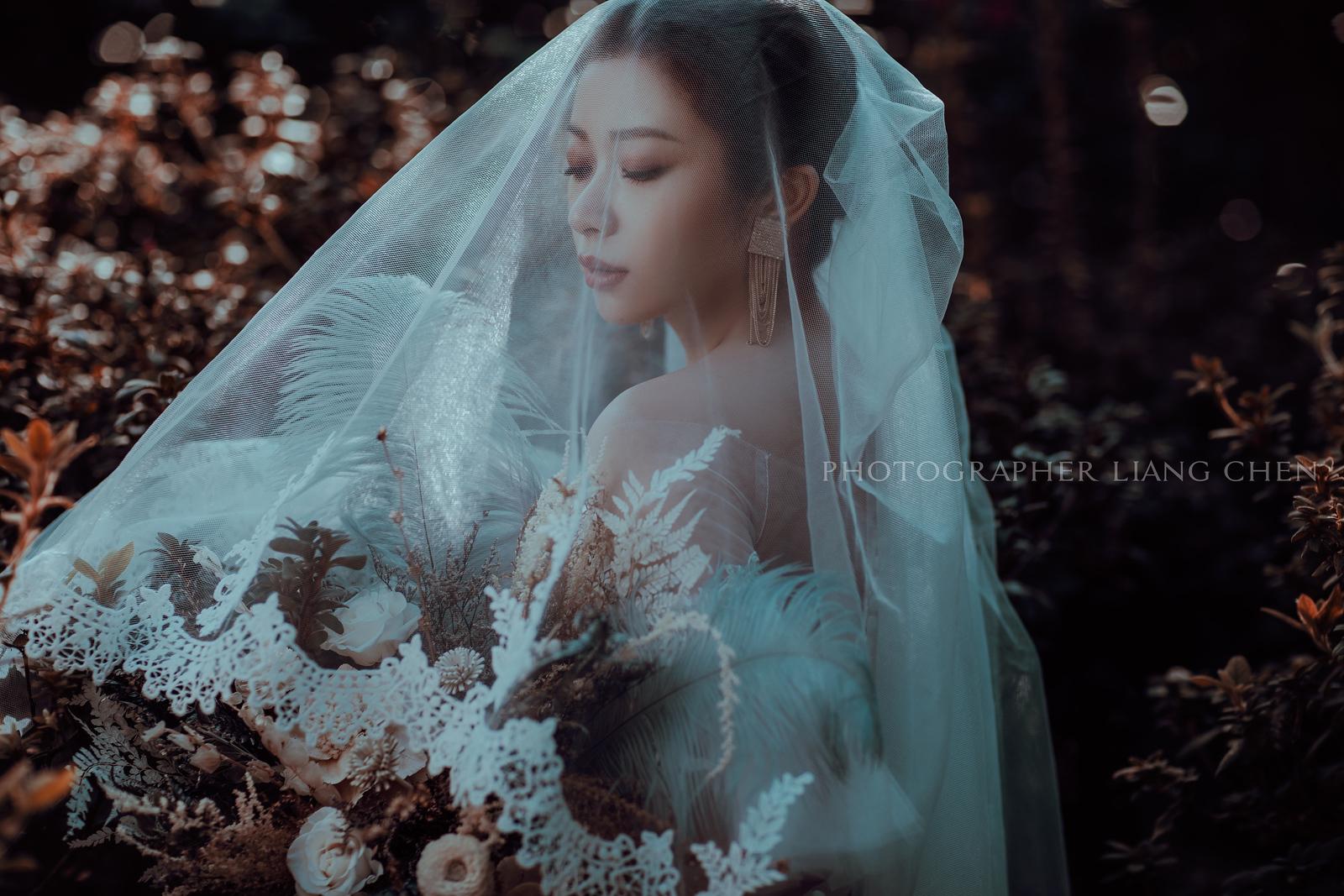 《婚紗》Mon & 謙 / 陽明山、棚內