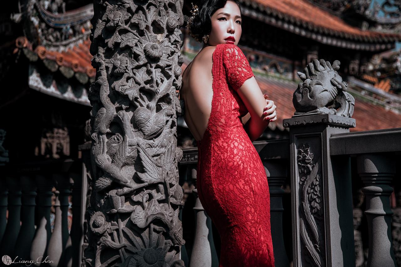 自助婚紗,婚紗攝影,婚紗禮服,婚紗照,三峽祖師廟婚紗