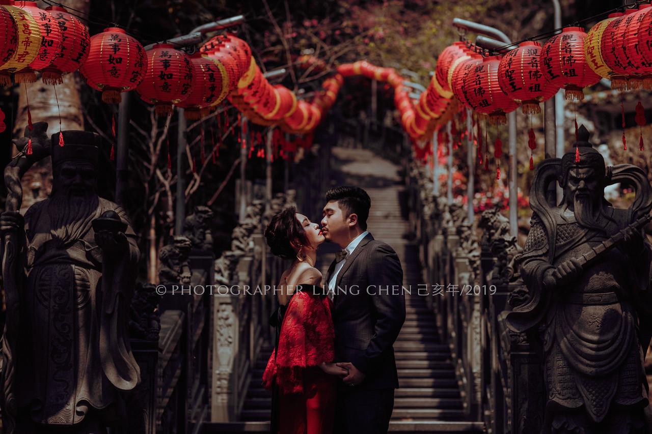 《婚紗》Irene & Tommy / 關渡宮、廟宇