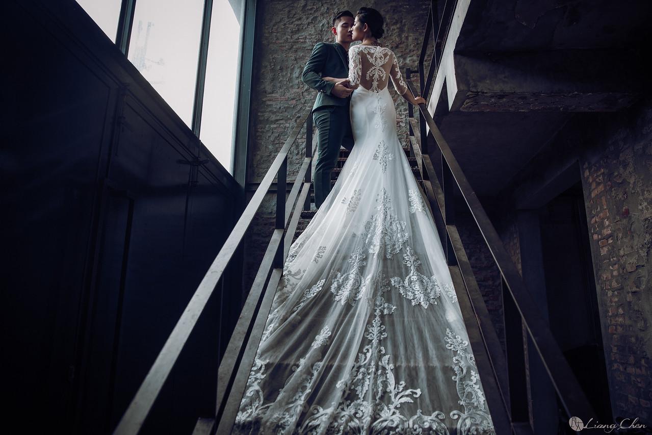 《婚紗》Can&余芯/關渡宮、淡水婚紗