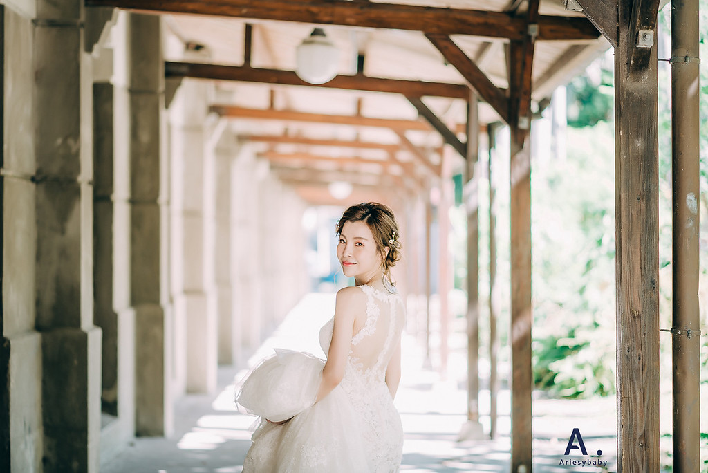 新娘髮型,新娘造型,短髮造型,編髮造型,自助婚紗