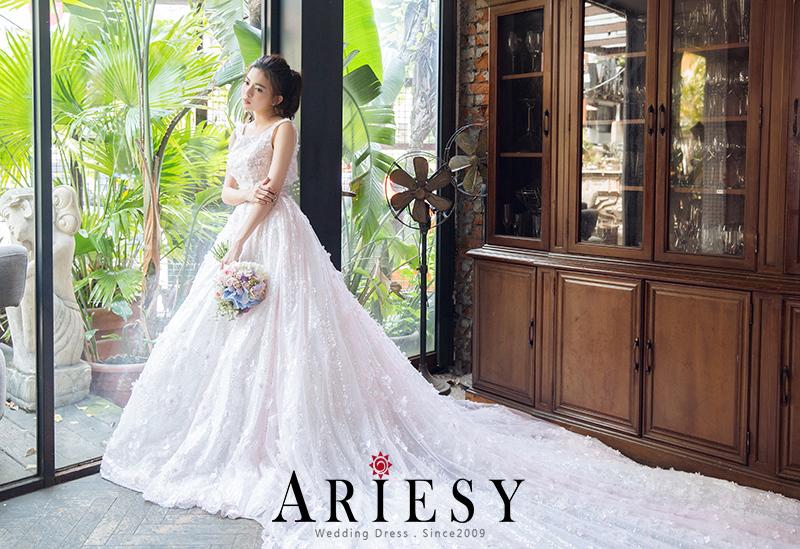 台北婚紗,手工婚紗,禮服出租,婚紗工作室,愛瑞思,ARIESY
