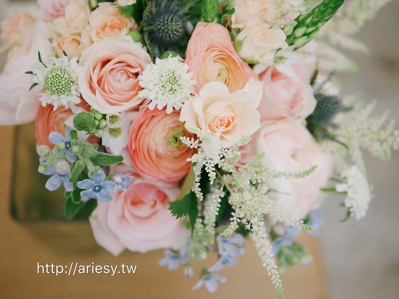 粉紅色系新娘捧花,歐美新娘捧花,新娘秘書,美式婚禮,bouquet