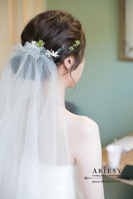 白紗進場新娘造型,愛瑞思,ARIESY,台北新秘,新娘秘書,新秘推薦