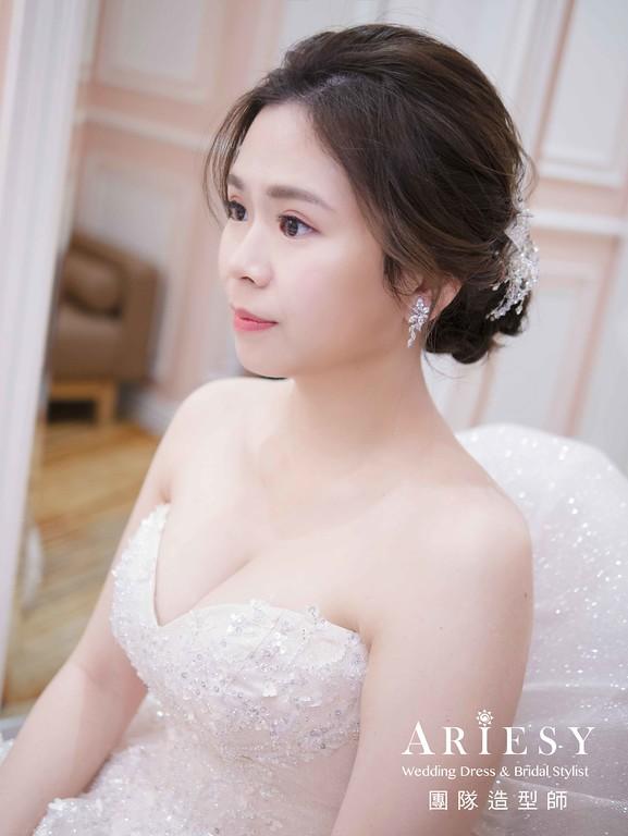 白紗進場新娘造型,愛瑞思,NICA,台北新秘,新娘秘書,新秘推薦