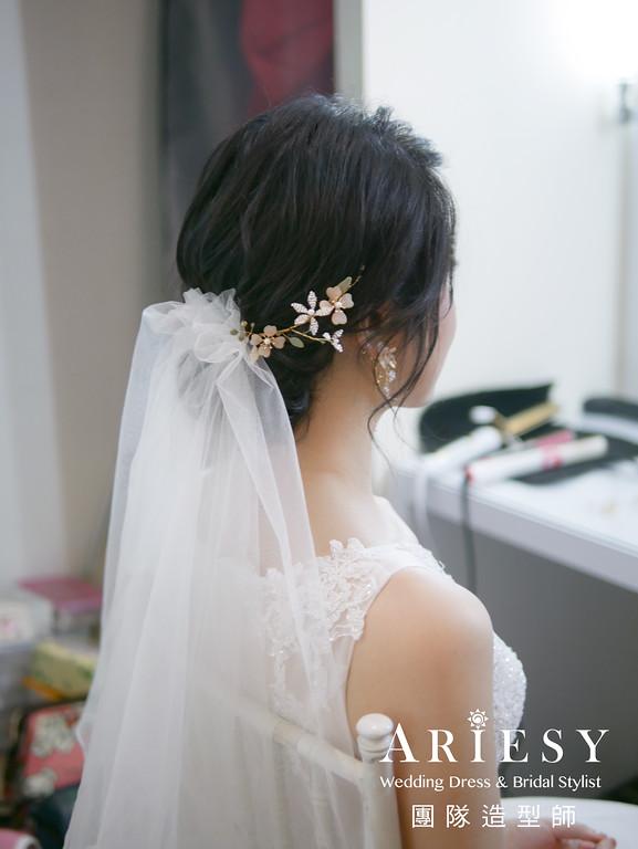 白紗進場新娘造型,愛瑞思,GINY,台北新秘,新娘秘書,新秘推薦