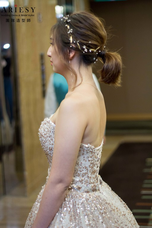 短髮新娘造型特輯,愛瑞思,DIBBIE,台北新秘,新娘秘書,新秘推薦