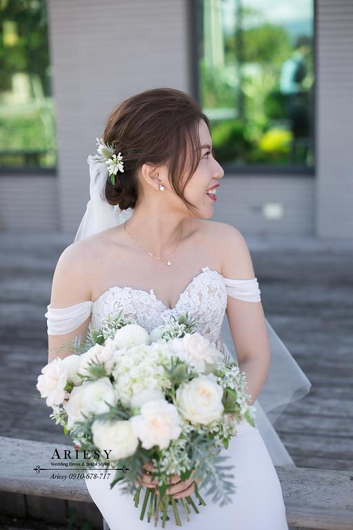 細軟髮新娘造型,愛瑞思,ARIESY,台北新秘,新娘秘書,新秘推薦