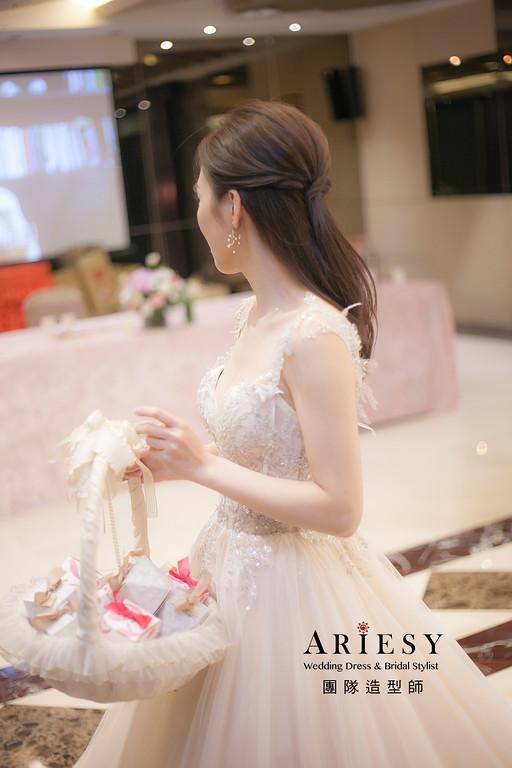 細軟髮新娘造型,愛瑞思,HANYA,台北新秘,新娘秘書,新秘推薦