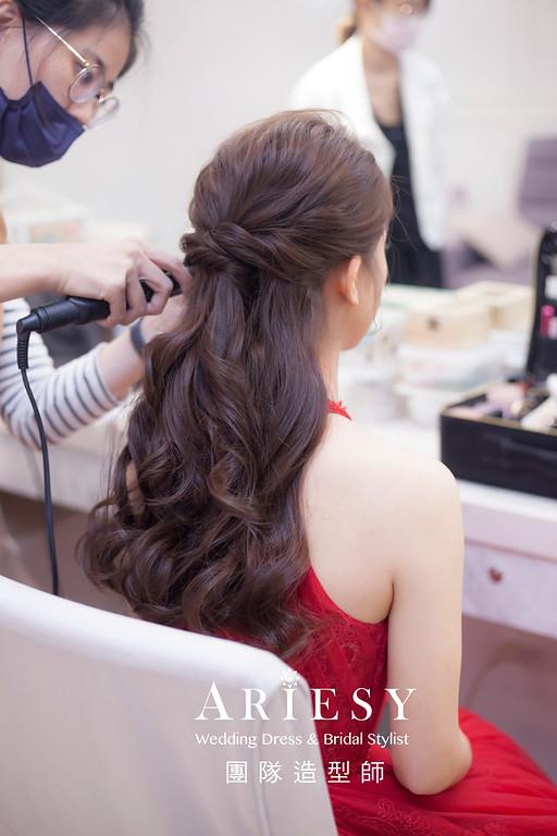 台北新祕,新娘秘書,新娘造型,新娘編髮,時尚造型,自然清透妝感,新娘髮型,新娘編髮造型,推薦新秘