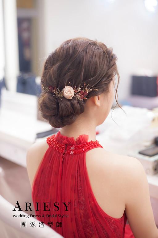 台北新祕,新娘秘書,新娘造型,新娘編髮,文定造型,自然清透妝感,新娘髮型,編髮造型,推薦新秘