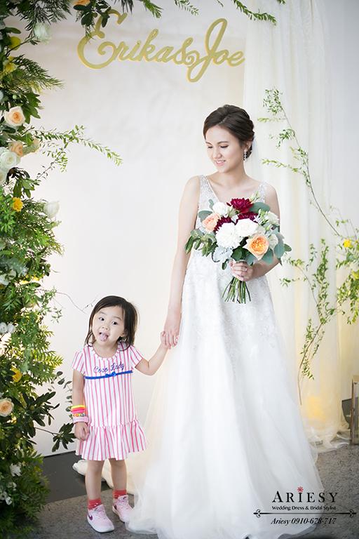 愛瑞思新秘,ARIESY,歐美新娘秘書,台北新秘,美式新娘捧花,歐美新娘造型