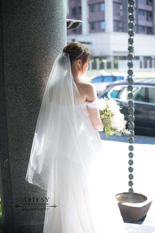 新娘秘書,美式新娘造型,敬酒新娘造型,愛瑞思,ariesy,美式新秘