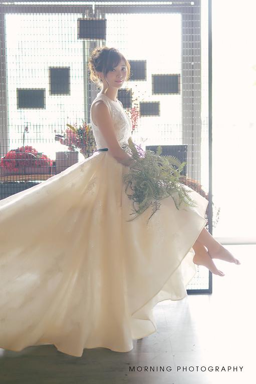 婚攝莫妮,歐美新娘造型,乾燥花飾品,新莊自助婚紗,新娘髮型