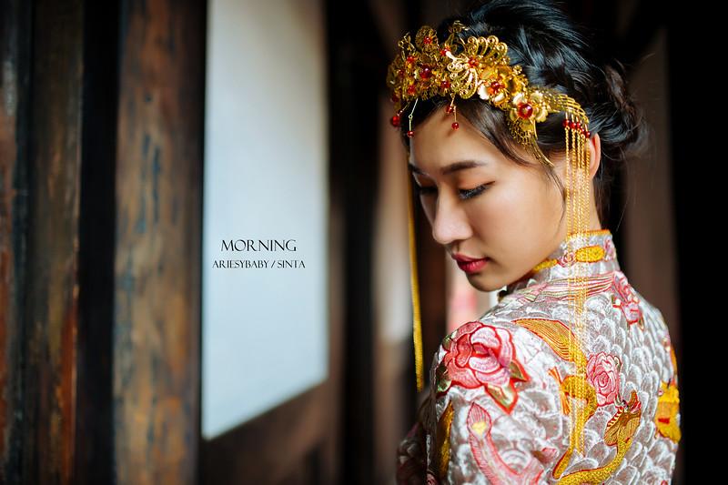 Ariesybaby造型團隊,婚攝莫妮,ARIESY愛瑞思品牌訂製手工婚紗,龍鳳掛造型,復古髮型