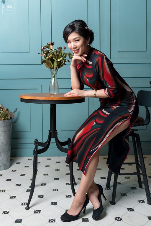 禮服出租,婚紗禮服工作室,新莊自助婚紗,手工婚紗,復古上海風旗袍