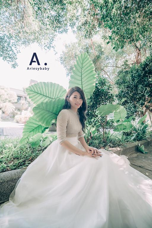 Ariesybaby造型團隊,ARIESY愛瑞思品牌訂製手工婚紗,類白紗造型,新娘髮型,婚攝大嘴