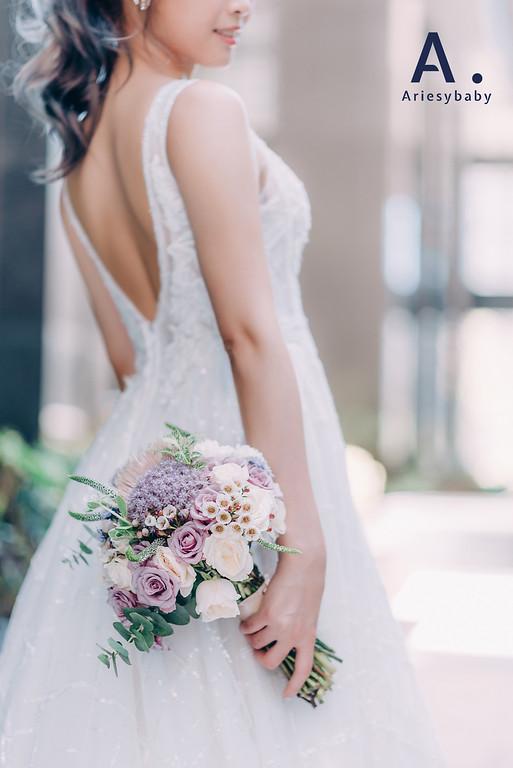 Ariesybaby造型團隊,ARIESY愛瑞思品牌訂製手工婚紗,白紗造型,自助婚紗,婚紗造型