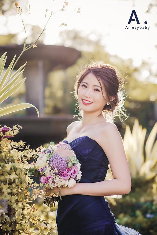 Ariesybaby造型團隊,ARIESY愛瑞思品牌訂製手工婚紗,編髮造型,新娘髮型,婚攝大嘴