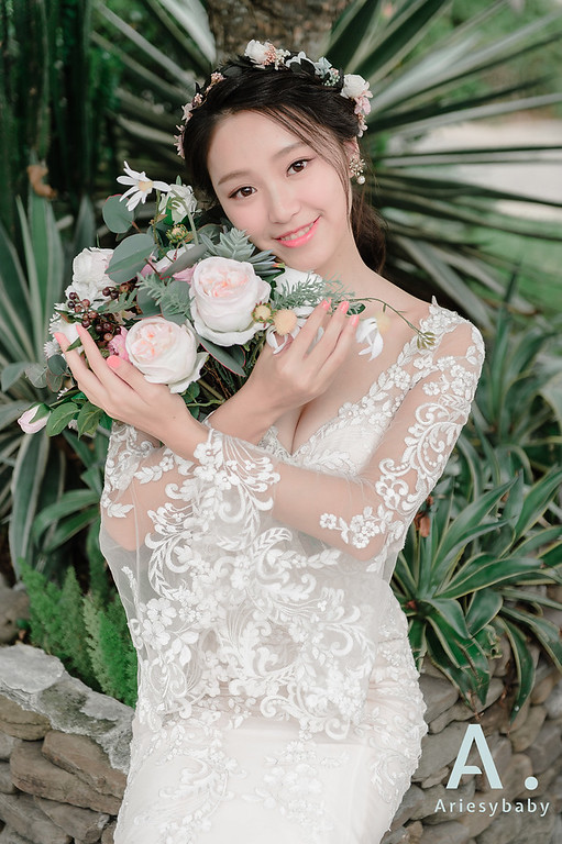 ARIESY 愛瑞思品牌訂製手工婚紗,Ariesybaby造型團隊,自助婚紗,凡登西服,花藝新娘造型