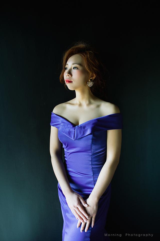 鮮花造型,自助婚紗,自主婚紗,歐美風,新娘盤髮,韓風造型