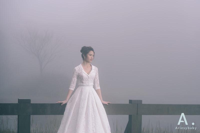 新娘造型,白紗造型,兩截式白紗,蓬鬆編髮,新娘捧花