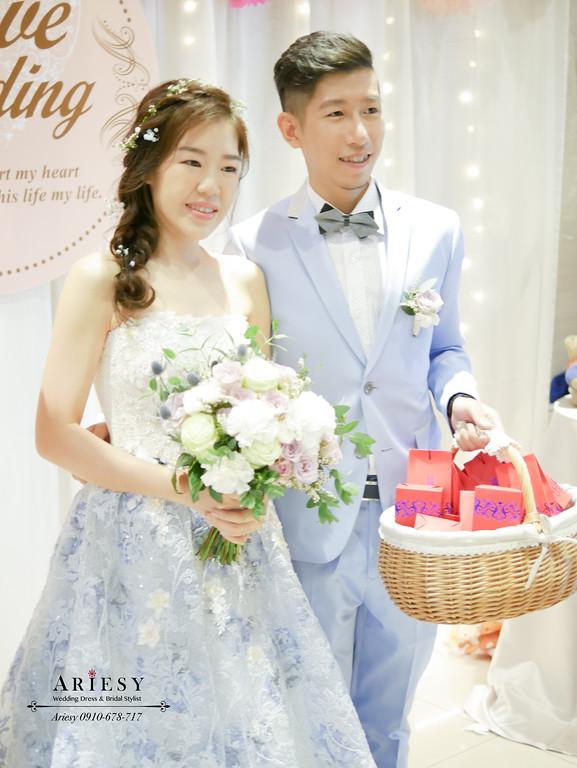 甜美新娘造型,鮮花新娘造型,台北新秘,編髮新娘髮型,紫白綠新娘捧花
